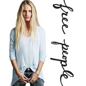 Free People Sunset Park Thermal Tunic